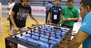 فوتبال دستی حرفه ای دونفره