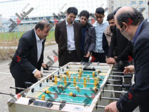 فوتبال دستی لاهیجان