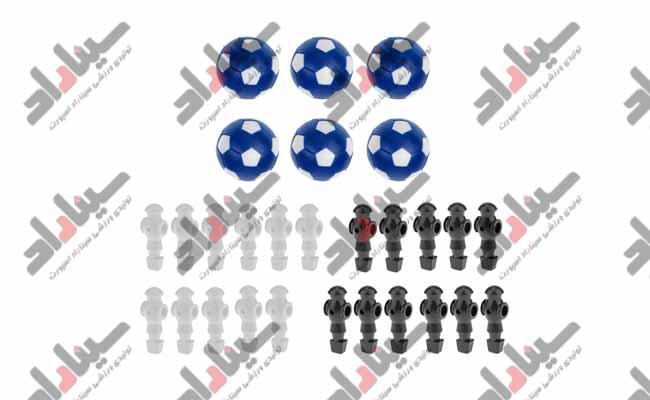 فروش تجهیزات مورد نیاز برای فوتبال دستی