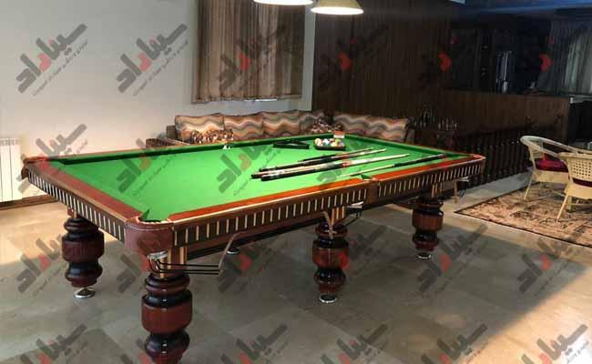 برترین فروشنده میز بیلیارد ایرانی با کیفیت