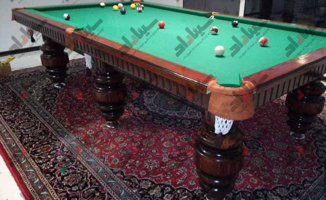 ویژگی میز بیلیارد ایرانی چیست؟