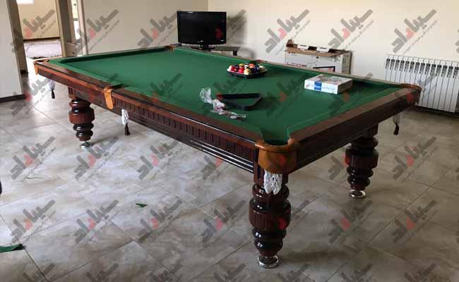 فروشنده معتبر میز بیلیارد 8 فوت