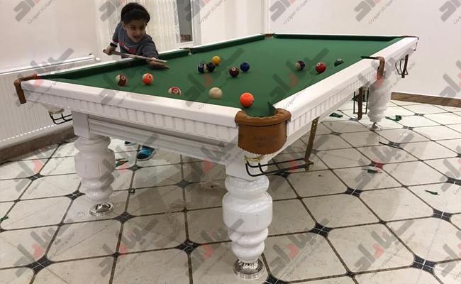 ابعاد مختلف میز بیلیارد ایرانی